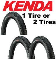 1 or 2-Pack Kenda 650B / 27.5 x 1.95 Slant Six Sport DTC Wire Bike Mountain Tire