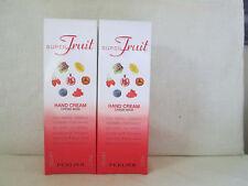 2 Perlier 3.3 oz Super Fruit Hand Cream New in Box