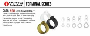 VMC Crossover Rings, Clear, 10 Pack, Choice of Sizes (2020 ICAST Winner)