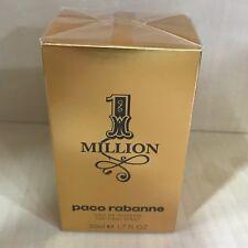 paco rabanne one million 1 Million 50ml Eau de Toilette Vapo Spray Originale Edt
