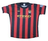 Manchester City 2011-12 Authentic Away Shirt Shirt (Very Good) XXL