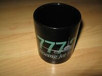 Boeing 777 Coffee Cup - 777-200 Airplane Jet Transport Aircraft Plane Black Mug