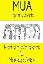 Mua Face Chart Portfolio Workbook for Makeup Artists by Sarie Smith (Paperback