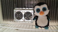 Norcold Refrigerator Deluxe Fan with METAL GRILL --INCREASES cooling inside
