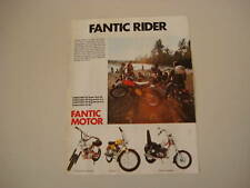 advertising Pubblicità 1974 FANTIC ROCKET/TI/CHOPPER