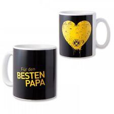 "KAFFEEBECHER TASSE POTT ""Für den besten Papa"" BORUSSIA DORTMUND BVB NEU"