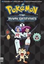 Pokemon: BW - Rival Destinies, Set 3 (DVD, 2014, 4-Disc Set) - Free Shipping!