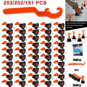 253x Floor Wall Tile Levelling System Leveler Tools Kit Reusable Construction UK