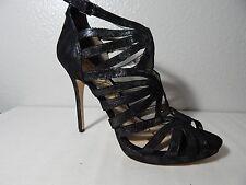 SAM EDELMAN - NWB - Size 10 M - Eve - Leather Strappy Heel - Granite
