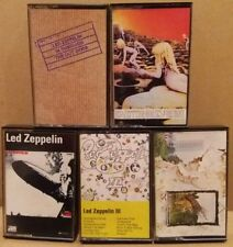Led Zeppelin Rock Music Cassettes