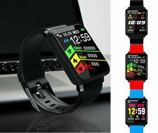 F1 Fitness Smart Watch Orologio intelligente frequenza cardiaca Bluetooh Touch