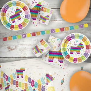 Mexican Fiesta Party Tableware & Decorations
