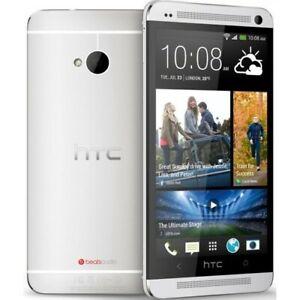 HTC ONE M7 32GB + 2GB RAM SINGLE SIM UNLOCKED SMARTPHONE BRAND NEW - SILVER