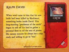 Pirates Rise of the Fiends #060 Ralph David Pocketmodel CSG NrMint-Mint
