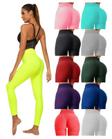 Ladies Push Up Yoga Pants High Waist Running Gym Leggings Sports Fitness Workout
