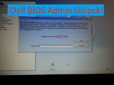 Dell Latitude BIOS admin password system unlock BIOS Password Recovery Laptop