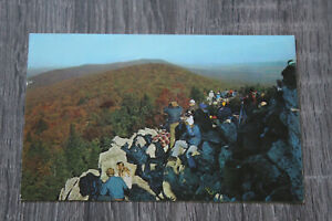 Postcard Hawk Mountain's Famed North Lookout USA Postcard
