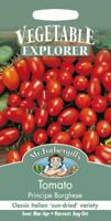 Mr Fothergills - Vegetable - Tomato Plum Principe Borghese - 75 Seeds