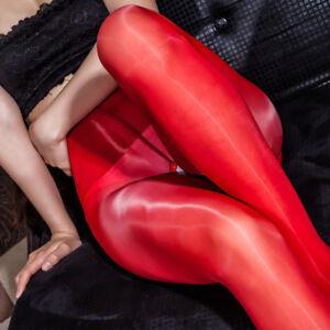 Plus Size High Quality Super Shiny Glossy Pantyhose Sheer Stockings Nylon Tights