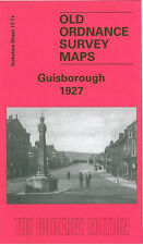 OLD ORDNANCE SURVEY MAP GUISBOROUGH 1927