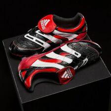 Adidas Depredador Accelarator Fg Negro Blanco Rojo Hombre Botas de Fútbol D96665
