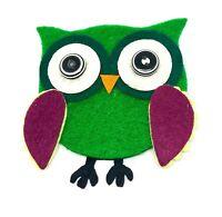 Owl Bandana bandeau chimio Foulard intemporelle coton Snowy Barn Fauve Hedwig