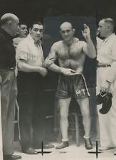 Marcel Thil  Vintage silver print,Marcel Thil est un boxeur français né le 25