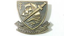 insigne de béret des Forces Spéciales / COMMANDOS MARINE Armée Française TDM
