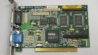 MATROX MGA-1064 Mystique  2MB SGRAM PCI VGA Retro Gaming VIDEO CARD  #T06