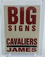2003-04 Lebron James Fleer Big Signs 7 Of 15BS RC Rookie NM-MT PSA? BGS? Cavs👑