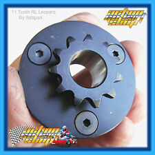 GO KART 10 or 11 TOOTH LEOPARD & CHEETAH ENGINE CLUTCH SPROCKET THREE HOLE