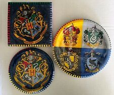 Harry Potter Hogwarts Party Kit: 16 Napkin 8 Lunch 8  Dessert Plates