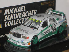 MERCEDES-BENZ 190 N°2 1/64 : MICHAEL SCHMACHER COLLECTION EDITION 64 N°2 ~  NEUF