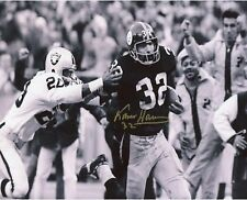 ** Franko Harris ** Pittsburgh Steelers Signed Autographed 8x10 Photo (RP)