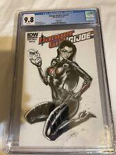 Danger Girl G.I. Joe #3 Cgc 9.8 J Scott Campbell Baroness Variant Cover 1 21