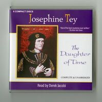 The Daughter of Time: by Josephine Tey - Unabridged Audiobook - 6CDs