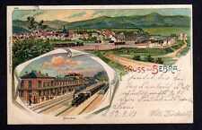 107135 AK Bebra Bahnhof Litho 1901