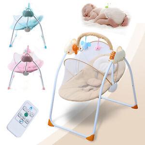 Electric Portable Baby Swing Cradle Infants Rocker Swing Chair with Music Baby Sleeping Cradle XEDUO Baby Swing