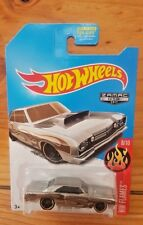 Hot Wheels 2017 HW FLAMES 8/10 ZAMAC 013 '68 DODGE DART(US EXCLUSIVE) (A+/A)