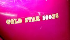 "1972 BSA B50 ""GOLD STAR 500 SS"", OEM, ONE (1), Side Cover Decal, OIF"