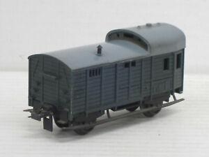 Güterzugbegleitwagen / Güterwaggon, grün, Trix, 1:87 / HO, ohne OVP, alt