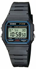 Casio F91W-1YEF Mens Water Resistant Casual Digital Watch with Alarm