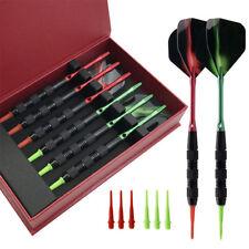6pcs Soft Tip Darts With Storage Box 155mm Durable Aluminium Shaft Darts Needle