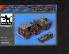 Blackdog Models 1/35 M561 GAMA GOAT FIRE TRUCK V2 Resin Conversion Set