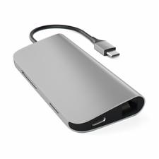 Satechi USB-C Hub Multi-Port Adapter 4K Space Gray