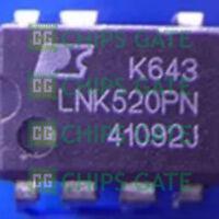 5PCS NEW LNK520PN Manu:POWER Encapsulation:DIP-7,Energy Efficient,CV or CV/CC