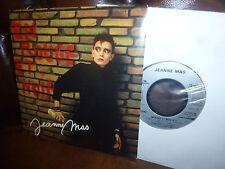 """Jeanne Mas, En Rouge Et Noir, Plus Forte Que L'ocean, EMI Single, France 7"""" 1986"""