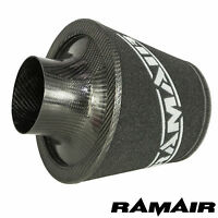 Ramair 90Mm Od Neck Universal Carbon Fibre Air Filter Foam Induction Intake