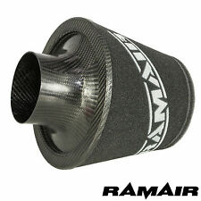 Ramair 90mm OD Neck Universal Carbon Fibre Air Filter Foam Induction Intake
