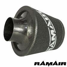 Ramair 90mm od cou universel fibre de carbone filtre à air mousse induction intake